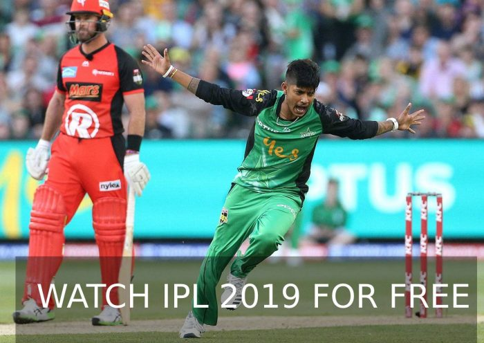 watch ipl 2019 for free