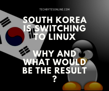 south korea switching to linux