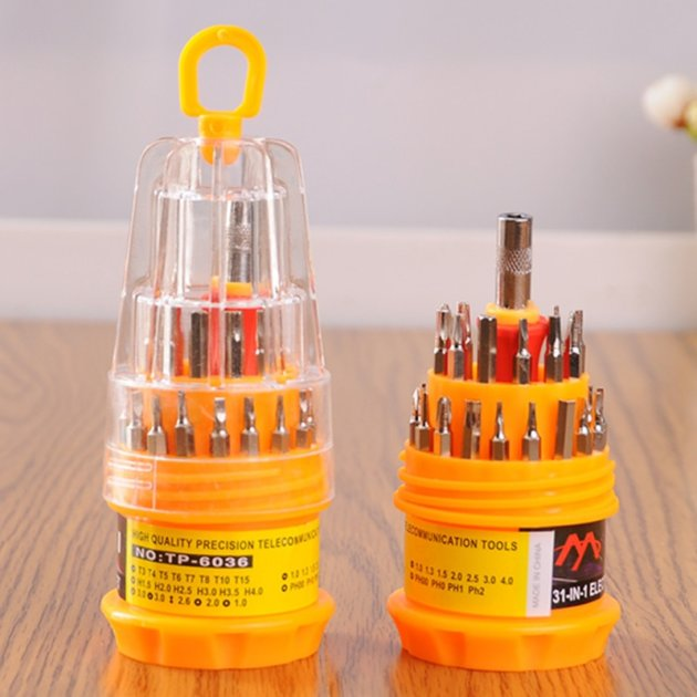 31 IN 1 MULTIPURPOSE SCREWDRIVER SET 1