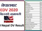 DV LOTTERY 2020 NEPAL RESULT IS PUBLISHED ! 65