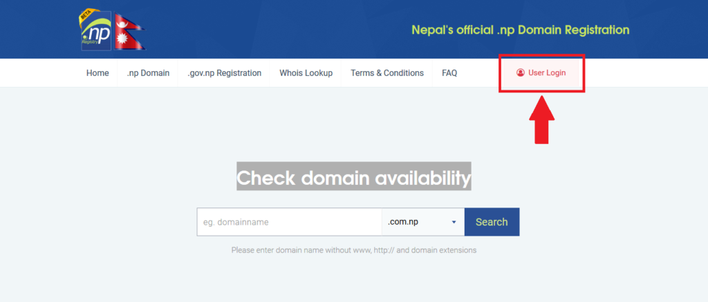 HOW TO REGISTER FREE .COM.NP DOMAIN IN NEPAL 4