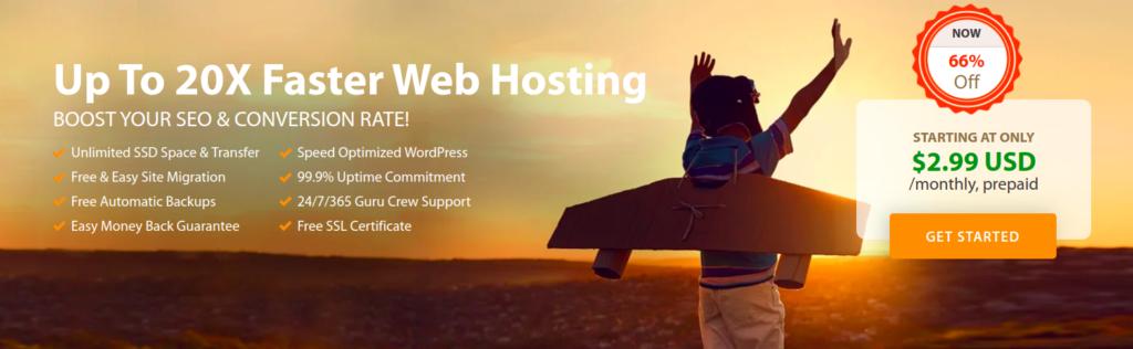 Why we've chosen a2hosting for our web hosting provider ? 2