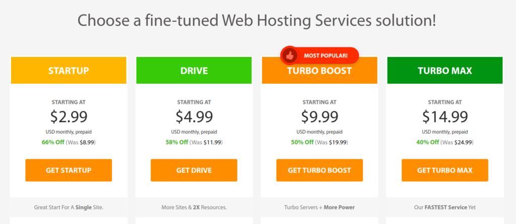 Why we've chosen a2hosting for our web hosting provider ? 4
